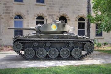 M24 Chaffee Tank.