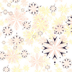 Colourful Snowflakes