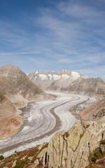 Riederalp, Dorf, Gletscherwanderung, Alpen, Wallis, Schweiz