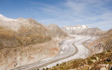 Bettmeralp, Bergdorf, Aletsch, Gletscher, Alpen, Schweiz