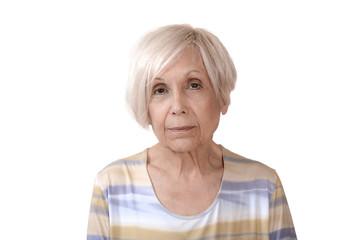 femme senior portrait