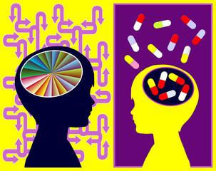 ADHD Medication Concept
