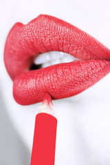 Lips make up