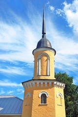 Old tower. Kremlin in Kolomna, Russia.