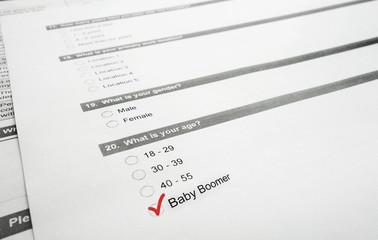 Boomer survey