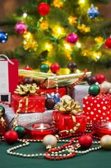 Christmas Gifts and Christmas Tree