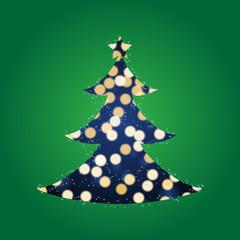 Shining Lights Christmas Tree