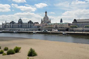 Elbe river cross Dresden