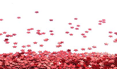 fond d'étoiles rouges