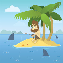 Shipwrecked Guy