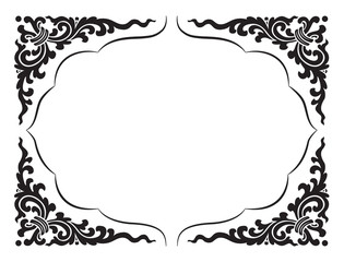 line pattern and frame