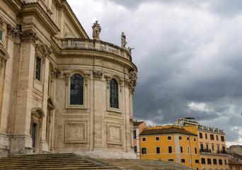 The church of Santa Maria Maggiore in  Rome, Italy