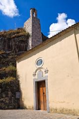 Church of Madonna della Rocca. Satriano di Lucania. Italy.