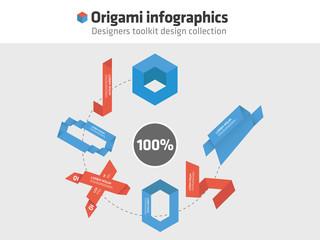 Origami - Infographics
