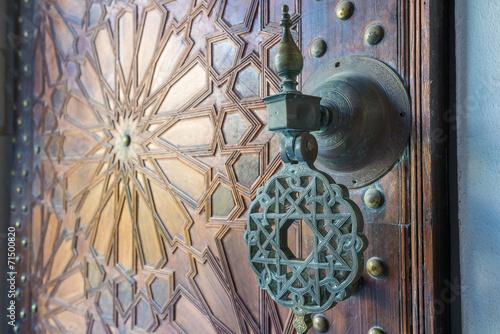Foto op Aluminium Marokko Ancient doors, Morocco