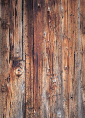 background of aged knotted grainy pine