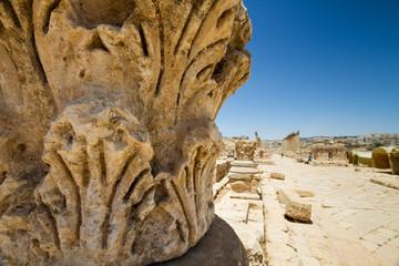 Capital, Jerash