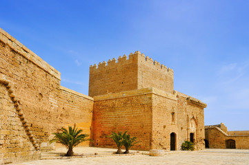 Alcazaba of Almeria, in Almeria, Spain