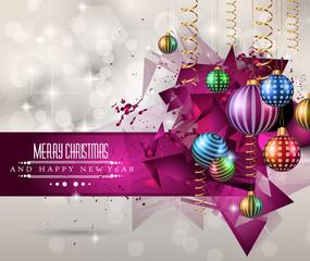 Christmas original modern background template