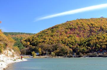 Abrau lake