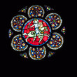 canvas print picture - Kirchenfenster