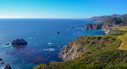Pacific coast, Big Sur, California