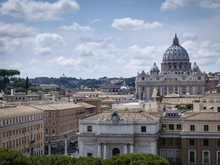 Italy, Rome, St. Peter's Cathedral dome