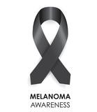 melanoma ribbon poster