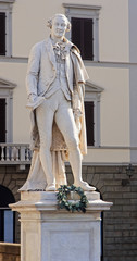 Statue of Carlo Goldoni in Florence