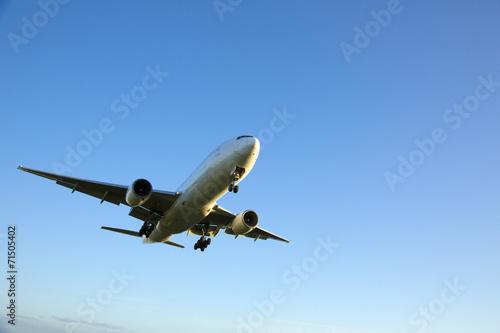 Foto op Plexiglas Vliegtuig 飛行機
