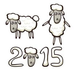 Set of sheep