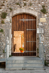 Castle of Campobasso, entrance