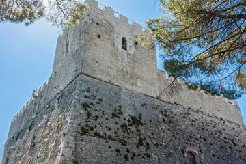 Monforte castle of Campobasso