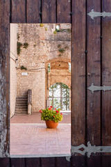 Castle of Campobasso, particular door