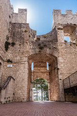 Castle of Campobasso, drawbridge