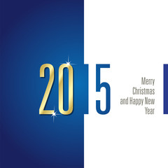2015 blue white background vector