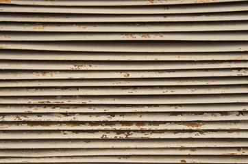 steel ventilation grille