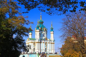 saint andrew's church in kiev