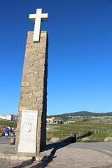 Memorial in Cabo da Roca - the westernmost extent of Portugal