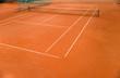 Leinwanddruck Bild - Tennisplatz