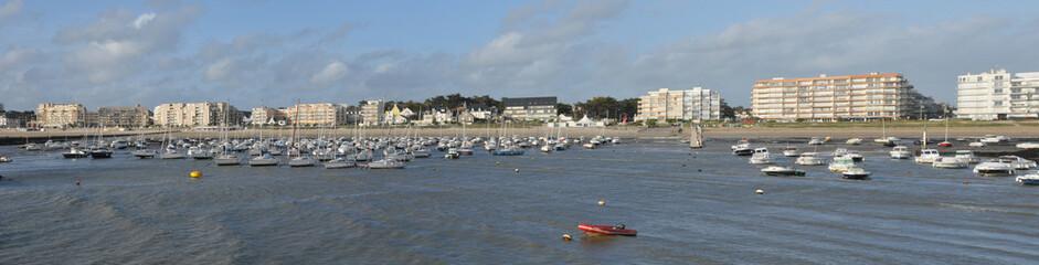 picturesque city of Pornichet in Loire Atlantique