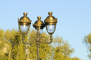Old street-lamp
