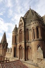 Catedral de Salamanca, detalle.