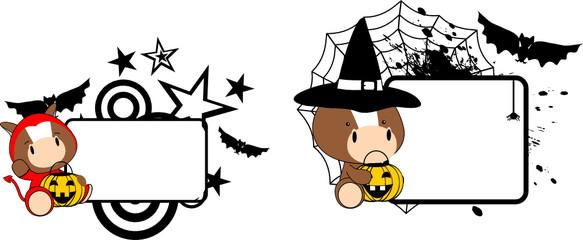 halloween costume horse baby cartoon