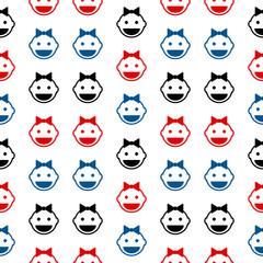Baby symbol seamless pattern