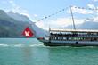 altes Damfschiff mit Seepanorama - 71514069