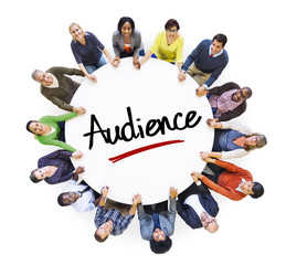 Multi-Ethnic Group of People and Audience Concepts
