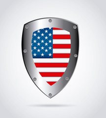 american shield design