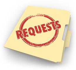Requests Manila Folder Customers Asking Jobs Tasks Service