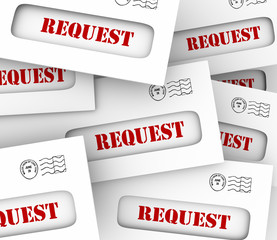 Request Envelope Pile Mail Delivery Customer Asking Jobs Tasks